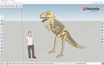 Sketch up Dino