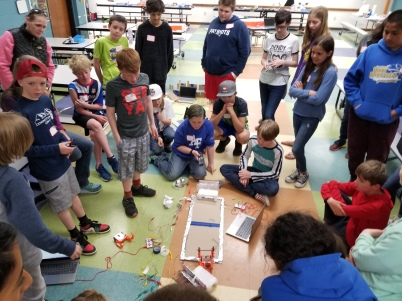 Makey Makey Interactive Sumo Wrestling Course for Edison Robots